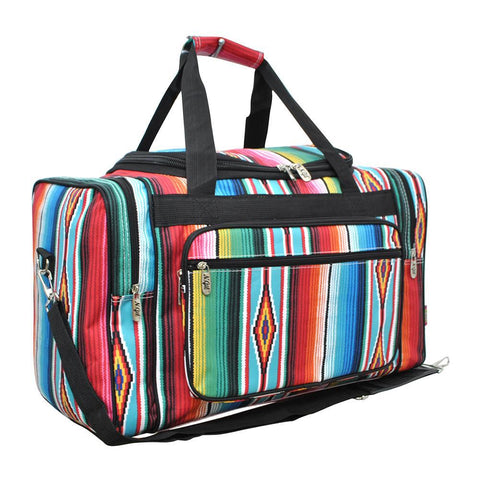 "Serape NGIL Canvas 20"" Duffle Bag"