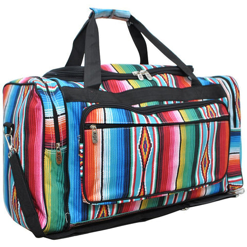 "Serape NGIL Canvas 23"" Duffle Bag"