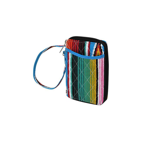 Serape NGIL Quilted Wristlet Wallet