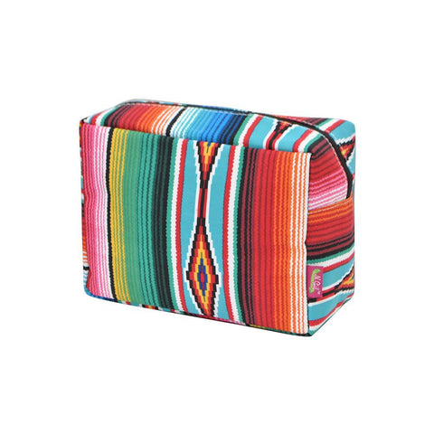 Cosmetic bags for travel, women's makeup bag set, makeup pouch for cheap, makeup gift idea, large monogram cosmetic bag, cosmetic organizer case, travel bags makeup artist, serape cosmetic bag, serape cosmetic bag wholesale