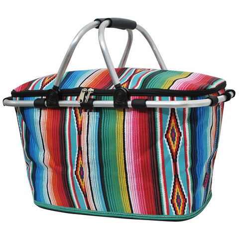 Serape NGIL Insulated Market Basket