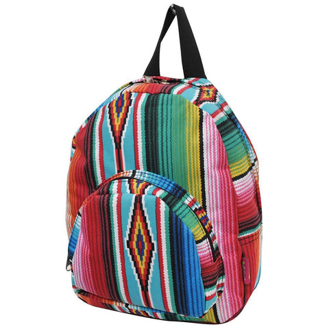 Serape NGIL Canvas Mini Backpack