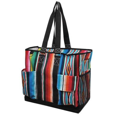 Serape NGIL Tall Canvas Tote Bag