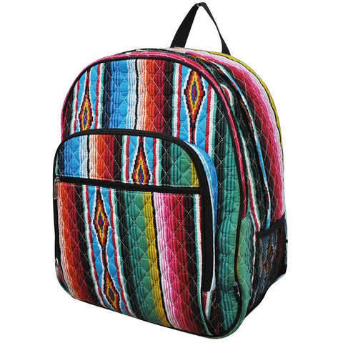 Serape NGIL Quilted Large School Backpack