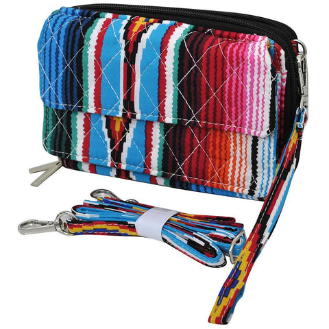Serape NGIL Quilted All In One Wallet