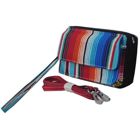 Serape NGIL Canvas All In One Wallet