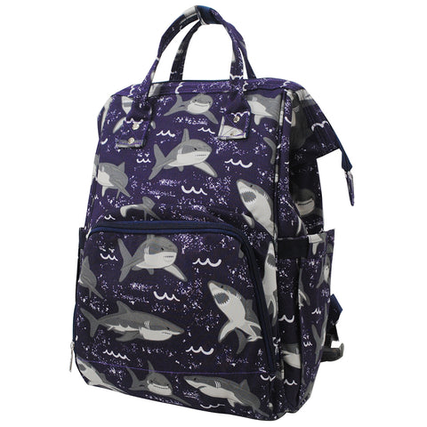 Sharks NGIL Diaper Bag/Travel Backpack