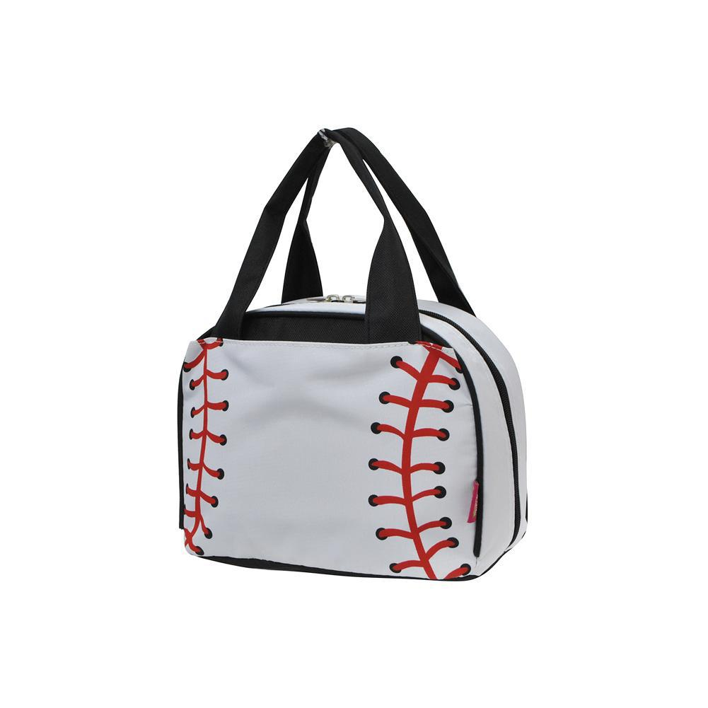 Baseball White NGIL Insulated Lunch Bag