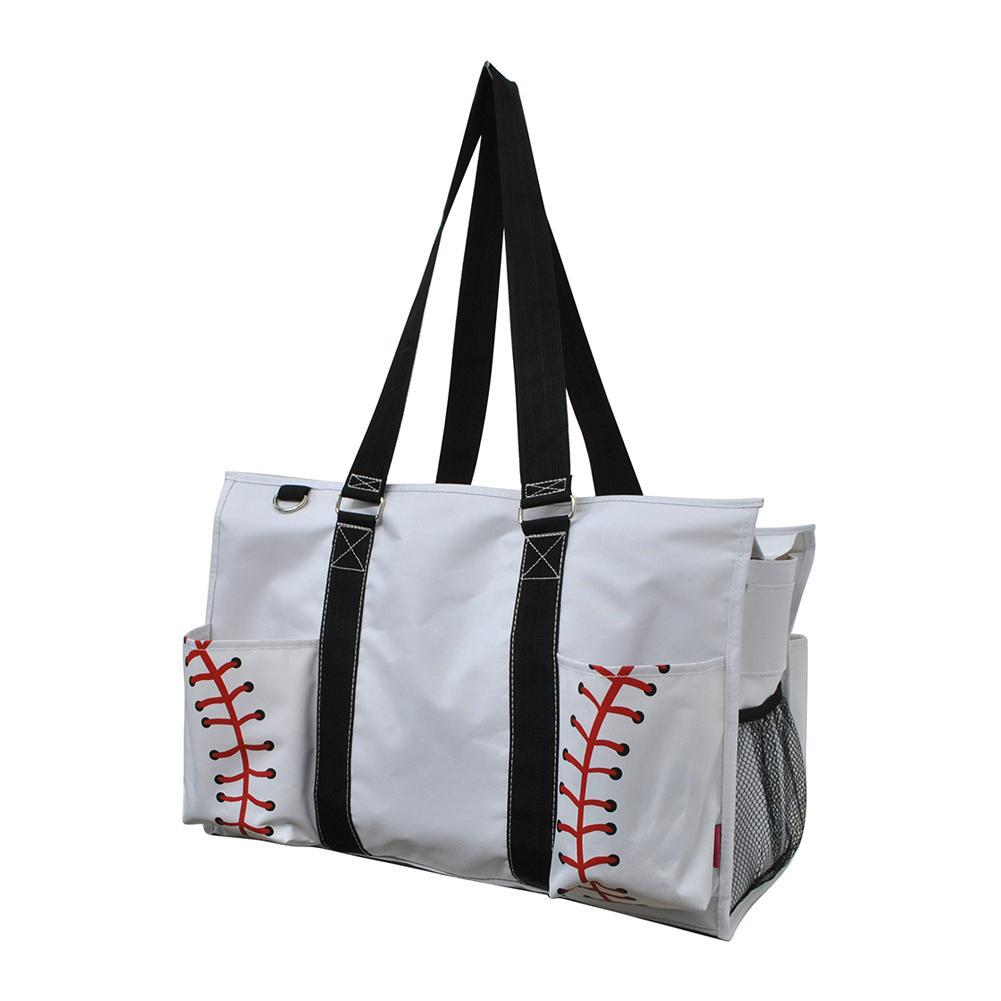 NGIL Brand, Gifts for teacher, monogram travel accessories, monogram tote for women zipper, monogram tote bags in bulk, nurse canvas tote, wholesale totes, tote bags, baseball mom gift, baseball tote women.