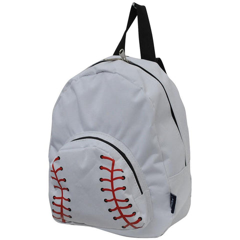 Baseball White NGIL Canvas Mini Backpack