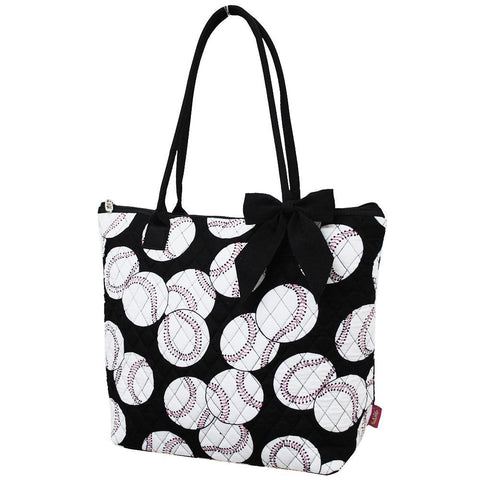Baseball NGIL Quilted Tote Bag