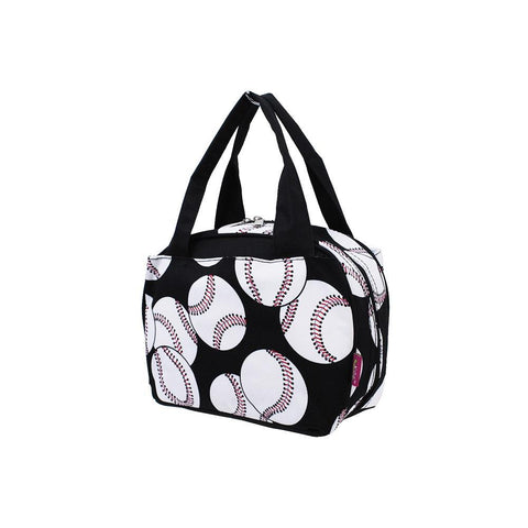 Baseball Black NGIL Insulated Lunch Bag