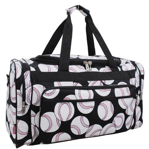 "Baseball NGIL Canvas 23"" Duffle Bag"