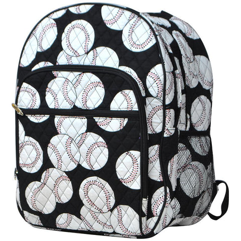 Baseball NGIL Quilted Large School Backpack