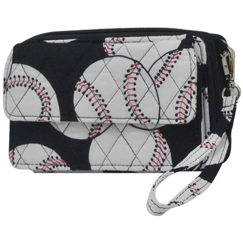 Baseball NGIL Quilted All in One  Wallet