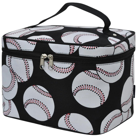 Monogram cosmetic bag, makeup bag for teen girls, makeup bag for sale, makeup bag for lipstick, makeup organizer travel bag, best makeup bags personalized, cosmetic pouch personalized, baseball team mom gift ideas, personalized baseball mom gifts, baseball makeup bag, baseball cosmetic bag