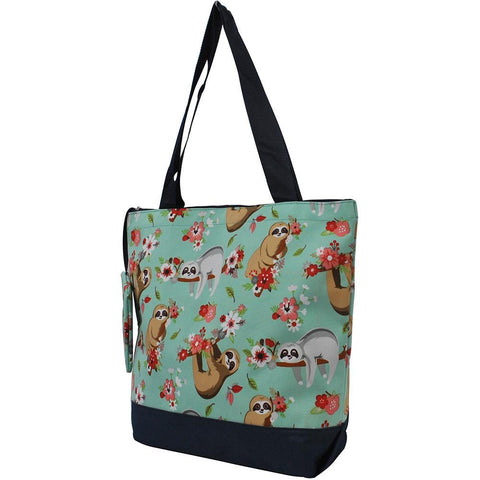 Happy Sloth NGIL Canvas Tote Bag