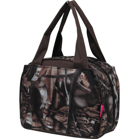 BnB Natural Camo Brown NGIL Insulated Lunch Bag