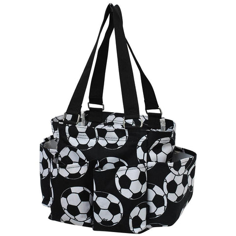 soccer canvas tote, soccer ball print tote, soccer team beach tote, monogram gift bags, monogram tote bags cheap, monogram tote with zipper, monogram tote bag for soccer team.