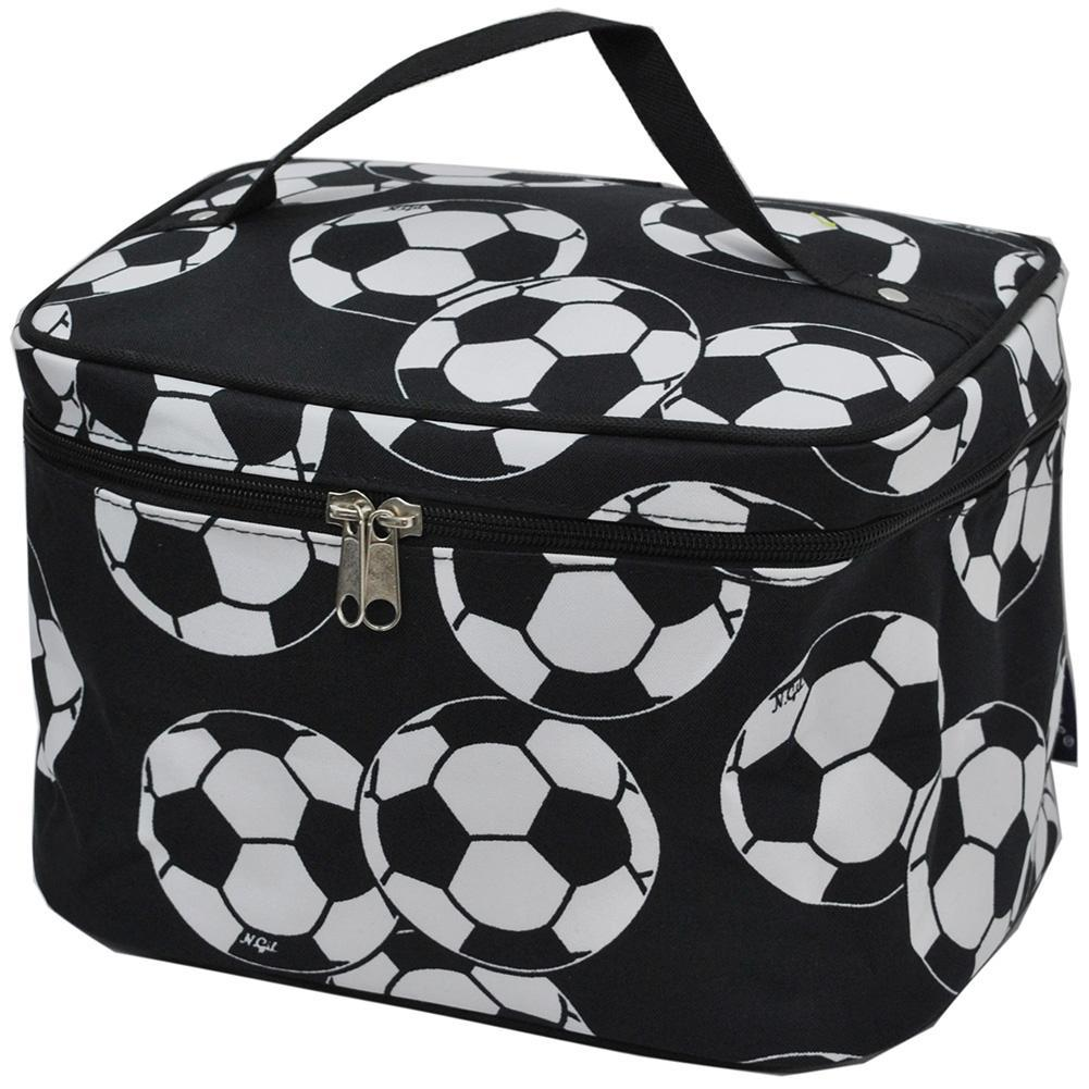 Soccer NGIL Large Top Handle Cosmetic Case