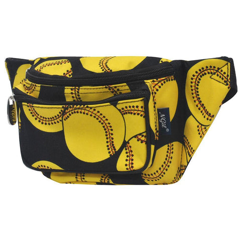 Softball Black NGIL Fanny Pack