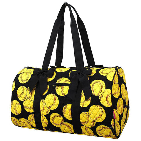 Softball NGIL Quilted Large Duffle Bag