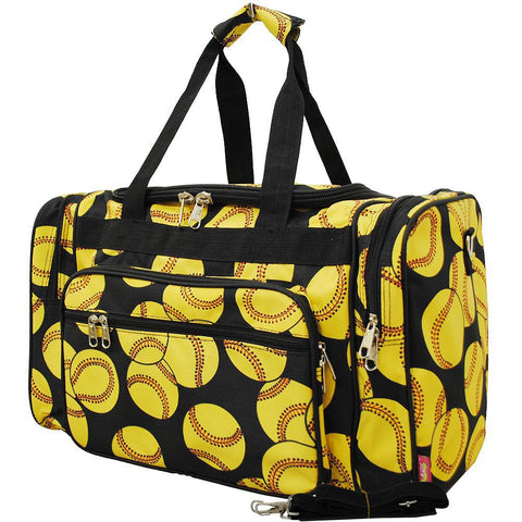 "Softball NGIL Canvas 20"" Duffle Bag"