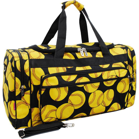 "Softball NGIL Canvas 23"" Duffle Bag"