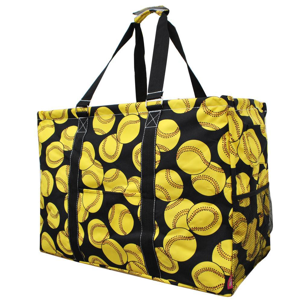 Softball NGIL Mega Shopping Utility Tote Bag