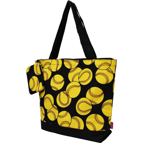 NGIL Brand, Personalized Travel Bag, canvas softball tote, yellow softball tote, cheap softball tote bags, personalized softball tote, monogram gift ideas, personalized accessories for mom, gifts for mom, nice tote bags for work, nice canvas tote bag, nice women's tote bag, ngil tote bags.