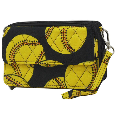 Softball NGIL Quilted All In One Wallet