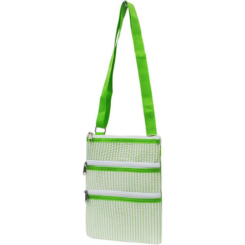SALE ! Seersucker Lime NGIL Messenger Bag
