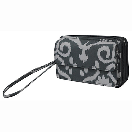 Damask Print NGIL Canvas All In One Wallet