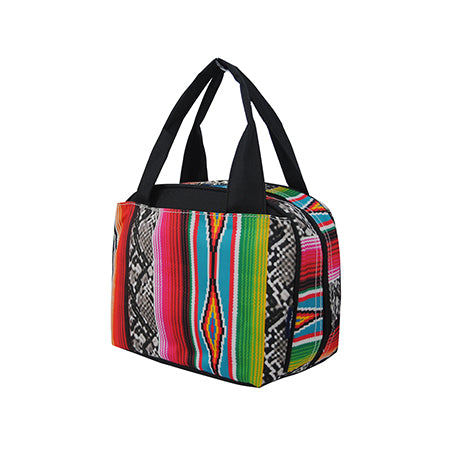Snake Skin with Serape NGIL Insulated Lunch Bag