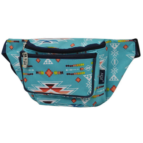 fanny packs for running, personalized fanny packs, cheap personalized fanny packs, women's fanny pack, women's fanny pack for travel, canvas fanny pack wholesale, mint fanny pack, blue Aztec fanny pack,