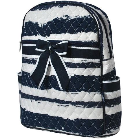 Sand Stripe NGIL Quilted Backpack
