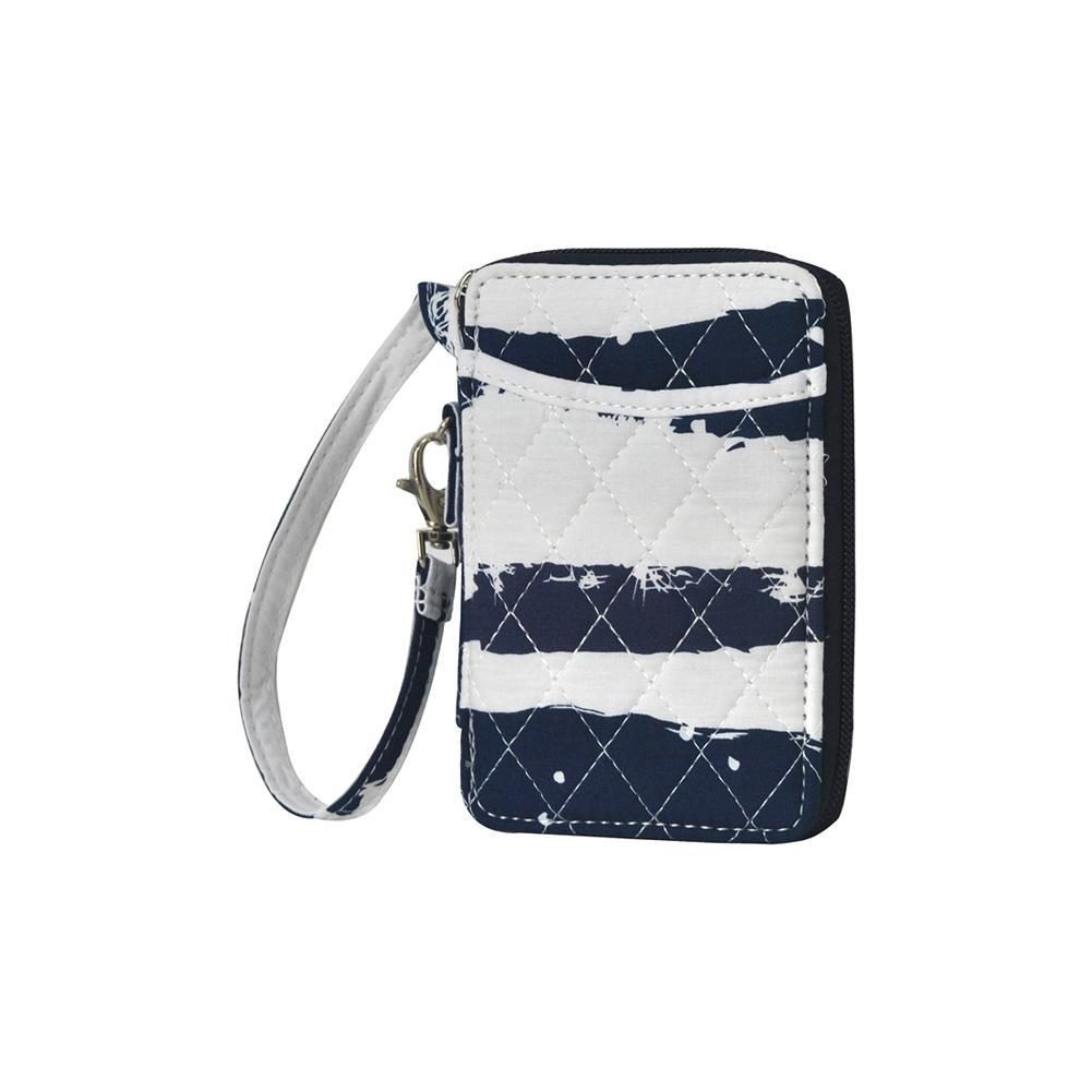 Sand Stripe NGIL Quilted Wristlet Wallet