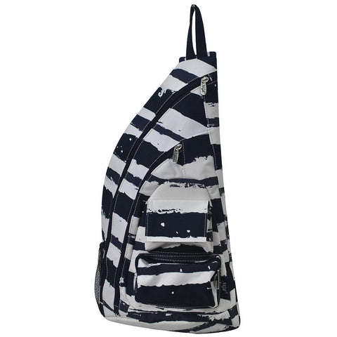 Sand Stripe World NGIL Sling Backpack