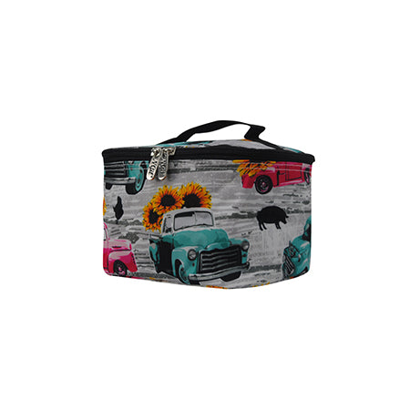 Sunflower Southern Vintage Truck NGIL Cosmetic Case