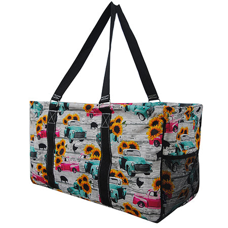 Sunflower Southern Vintage Truck NGIL Utility Bag