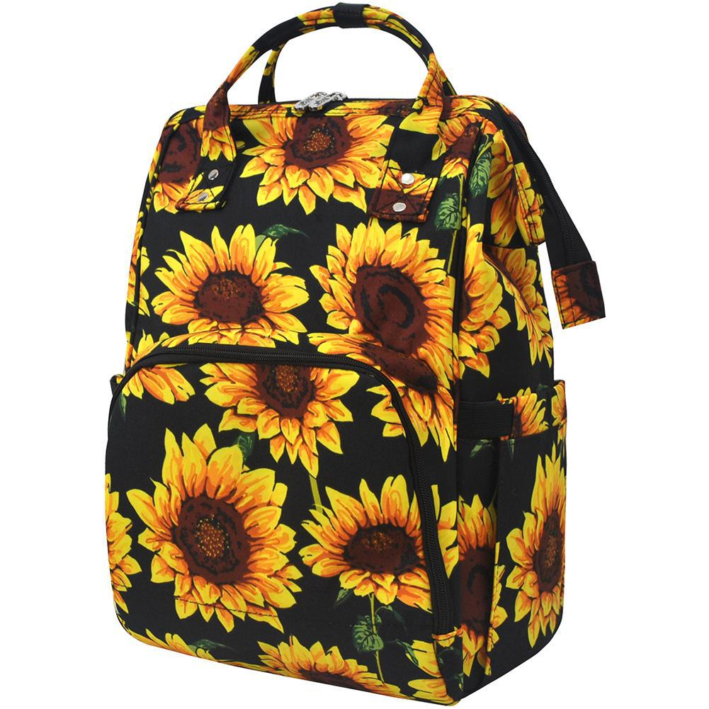 Sunflower NGIL Diaper Bag/Travel Backpack