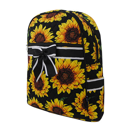 Sunflower NGIL Quilted Backpack