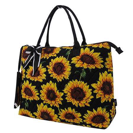 Sunflower NGIL Quilted Overnight Tote Bag