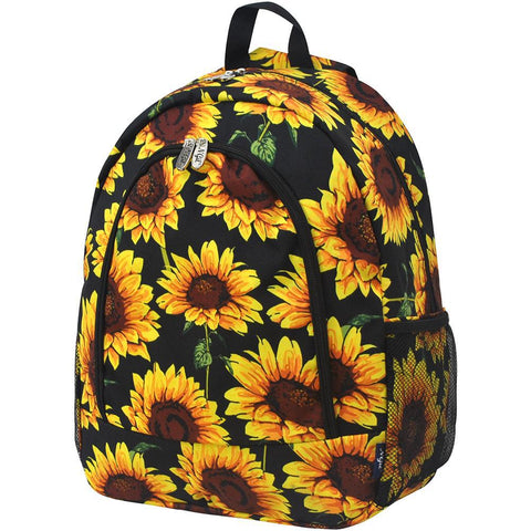 Sunflower NGIL Canvas School Backpack