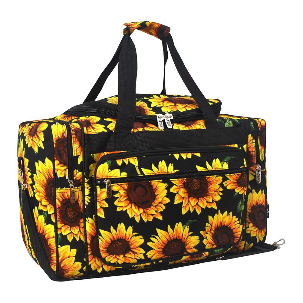 "Sunflower NGIL Canvas 20"" Duffle Bag"