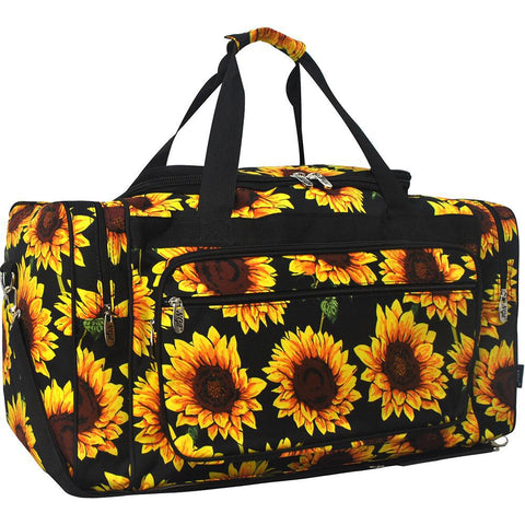 "Sunflower NGIL Canvas 23"" Duffle Bag"