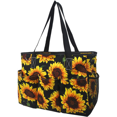 Sunflower NGIL Large Utility Caddy Tote