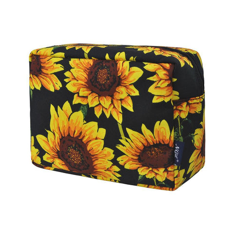 Sunflower NGIL Large Cosmetic Travel Pouch