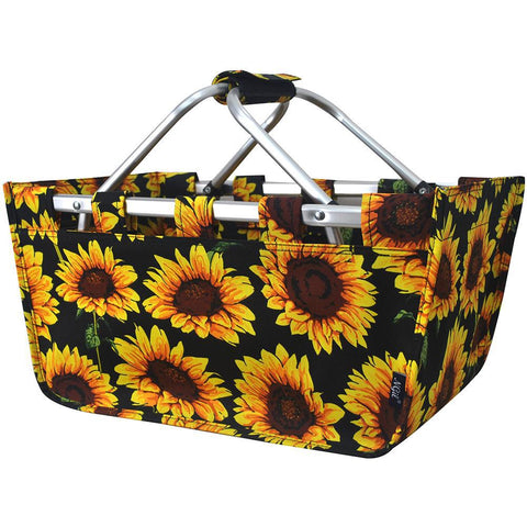 Sunflower NGIL Canvas, Shopping, Market, Picnic Basket