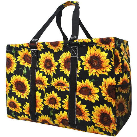 Sunflower NGIL Mega Shopping Utility Tote Bag